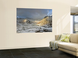 Langdale Pikes from Side Pike, Lake District, Cumbria, England Wall Mural by Gavin Hellier
