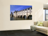 Chateau de Chenonceaux, Loire Valley, France Wall Mural by Walter Bibikow