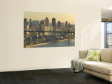 Roosevelt Island and Queensboro Bridge, New York, USA Wall Mural by Walter Bibikow