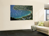 Cane Garden Bay, Tortola, British Virgin Islands, Caribbean Mural por Walter Bibikow