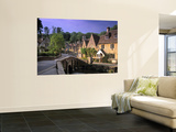 Castle Combe, The Cotswolds, Wiltshire, England Wall Mural by Rex Butcher