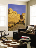 Mount Rushmore, South Dakota, USA Wall Mural by Walter Bibikow