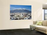 Pichincha Volcano and Quito Skyline, Ecuador Fototapete von John Coletti