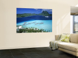 Pearl Beach Resort, Bora Bora, French Polynesia Wall Mural by Walter Bibikow
