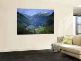 Geiranger Fjord, Western Fjords, Norway Wall Mural by Gavin Hellier