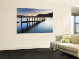 Brandelhow Bay Jetty, Derwentwater, Keswick, Lake District, Cumbria, England Wall Mural by Gavin Hellier