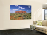 Ayers Rock, Northern Territory, Australia Wall Mural by Alan Copson