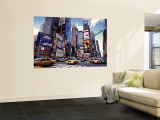 Times Square, New York City, USA Wall Mural by Doug Pearson