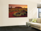 Ayers Rock, Northern Territory, Australia Wall Mural by Doug Pearson