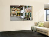 Mittenwald, Luftlmalerei, Bavaria, Germany Wall Mural by Alan Copson