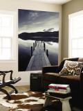 Brandelhow Bay Jetty, Derwentwater, Keswick, Lake District, Cumbria, England reproduction murale géante par Gavin Hellier