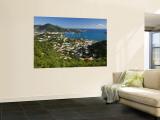Caribbean, US Virgin Islands, St. Thomas, Charlotte Amalie Wall Mural by Gavin Hellier