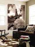 Tour Eiffel, Paris, France Reproduction murale géante par Jon Arnold