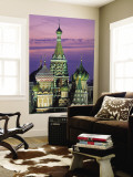 St. Basil's Cathedral, Red Square, Moscow, Russia Wall Mural by Peter Adams