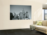 St. Basil's Cathedral, Red Square, Moscow, Russia Wall Mural by Jon Arnold