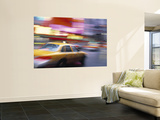 Taxi, New York City, USA Wall Mural by Peter Adams