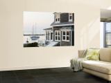 Harbour, Menemsha, Martha's Vineyard, Massachusetts, USA Wall Mural by Walter Bibikow