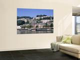 River Meuse and Citadel, Namur, Belgium Wall Mural by Danielle Gali