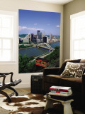 Duquesne Incline Cable Car and Ohio River, Pittsburgh, Pennsylvania, USA Wall Mural by Steve Vidler