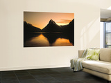 Milford Sound, South Island, New Zealand Wall Mural by Danielle Gali