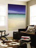Tropical Beach, Maldives, Indian Ocean Wall Mural by Jon Arnold