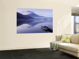 Mt. Fuji and Lake Kawaguchi, Kansai Region, Honshu, Japan Wall Mural by Peter Adams
