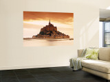 Mont St. Michel, Manche, Normandy, France Wall Mural by Doug Pearson