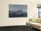 Skyline of Hong Kong Island from Kowloon, Hong Kong, China Wall Mural by Michele Falzone
