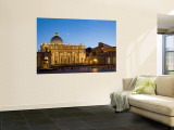 St. Peter's Basilica, The Vatican, Rome, Italy Wall Mural by Michele Falzone
