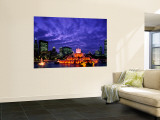 Buckingham Fountain and City Skyline, Chicago, Illinois, USA Wall Mural by Steve Vidler