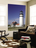 Cape Cod Lighthouse, Truro, Cape Cod, Massachusetts, USA Wall Mural by Walter Bibikow