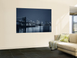 Brooklyn Bridge, New York, USA Wall Mural by Jon Arnold