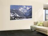 Kandersteg, Berner Oberland, Switzerland Wall Mural by Walter Bibikow