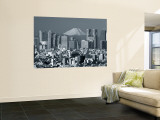 City Skyline and Mount Fuji, Tokyo, Honshu, Japan Wall Mural by Steve Vidler