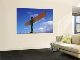 Angel of the North, Gateshead, Tyne and Wear, England Wall Mural by Robert Lazenby