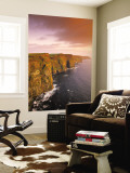 Cliffs of Moher, County Clare, Ireland Wall Mural by Doug Pearson