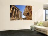 Temple of Bacchus, Baalbek, Bekaa Valley, Lebanon Wall Mural by Gavin Hellier