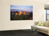 Alhambra Palace, Granada, Granada Province, Andalucia, Spain Wall Mural by Alan Copson