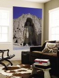 Worlds Largest Standing Buddha, Bamiyan, Afghanistan Wall Mural by Steve Vidler
