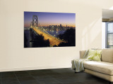 Oakland Bay Bridge, San Francisco, California, USA Wall Mural by Walter Bibikow