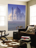 Taj Mahal, Agra, India Wall Mural by Peter Adams