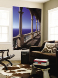 Verandah of Mansion, Son Marroig, Majorca, Spain Wall Mural by Rex Butcher