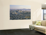 Pasig City Business Area Skyline, Manila, Philippines Wall Mural by Steve Vidler