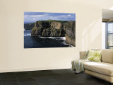 Cliffs of Moher, County Clare, Ireland Wall Mural by Gavin Hellier