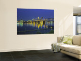 Louisville and Ohio River, Kentucky, USA Wall Mural by Walter Bibikow