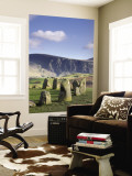 Standing Stones, Castlerigg, Lake District, Cumbria, England Wall Mural by Doug Pearson