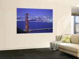 Golden Gate Bridge, San Francisco, California, USA Wall Mural by Walter Bibikow