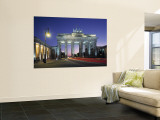 Brandenburg Gate, Berlin, Germany Wall Mural by Jon Arnold