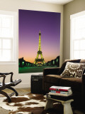 Eiffel Tower, Paris, France Wall Mural by Steve Vidler