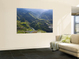Rice Terraces of Banaue, Luzon Island, Philippines Wall Mural by Michele Falzone